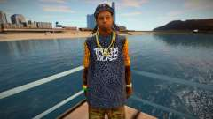 Lil Wayne v1 for GTA San Andreas