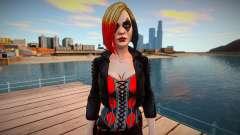 Harley Quinn (good textures) for GTA San Andreas