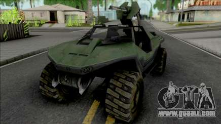 Halo Combat Evolved Warthog M12 for GTA San Andreas