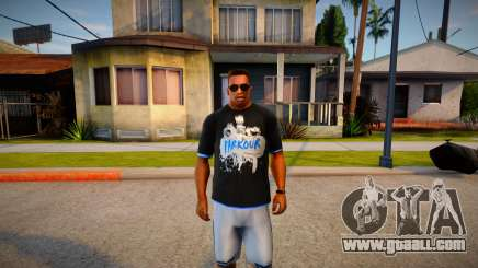 T-shirt Parkour for GTA San Andreas