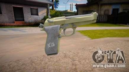 Beretta M9 (AA: Proving Grounds) V3 for GTA San Andreas
