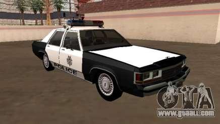 LTD Crown Victoria 1991 Las Vegas Metro Police for GTA San Andreas