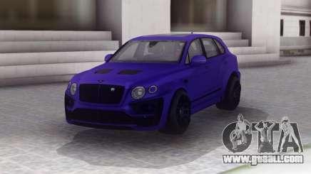 Bentley Bentayga Lumma for GTA San Andreas