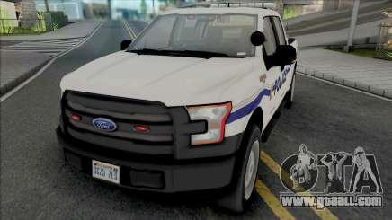 Ford F-150 201 Dillimore Blueberry Police for GTA San Andreas