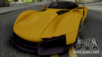 Rezvani Beast X 2016 for GTA San Andreas