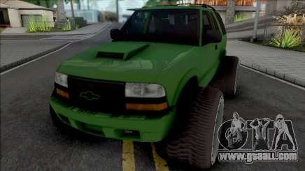 Chevrolet Blazer Lifted for GTA San Andreas