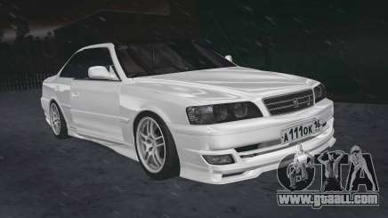 Toyota Chaser 100 RUS Plates for GTA San Andreas