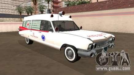 Cadillac Miller-Meteor 1959 Old Ambulance for GTA San Andreas