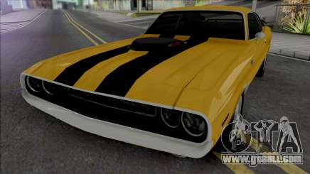 Dodge Challenger RT 1970 [IVF VehFuncs ADB] for GTA San Andreas
