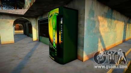 Tuborg beer machine for GTA San Andreas