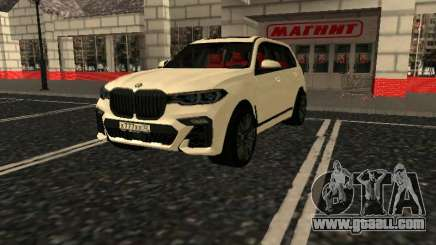 BMW X7 Xdrive D50 for GTA San Andreas