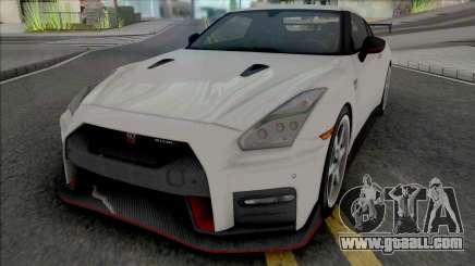 Nissan GT-R Nismo (SA Plate) for GTA San Andreas