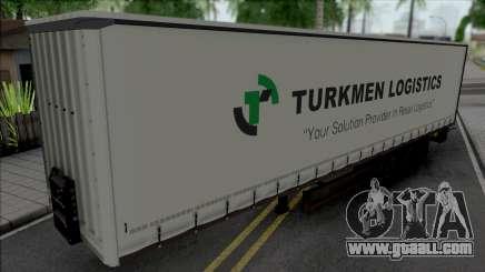 Trailer Turkmen Logistic for GTA San Andreas