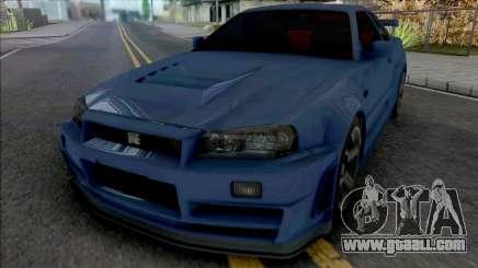 Nissan Skyline GT-R R34 Nismo Z-Tune 2005 [IVF] for GTA San Andreas