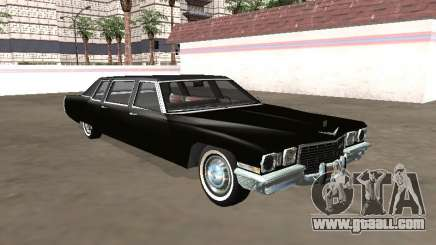 1972 Cadillac DeVille Limousine for GTA San Andreas