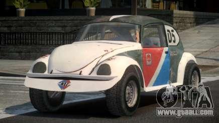Volkswagen Beetle Prototype from FlatOut PJ5 for GTA 4