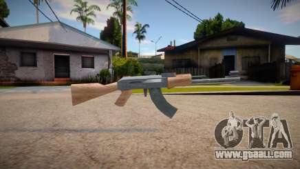 New AK-47 (good textures) for GTA San Andreas