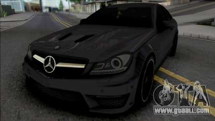 Mercedes-Benz C63 AMG Edition 2014 (IVF Lights) for GTA San Andreas