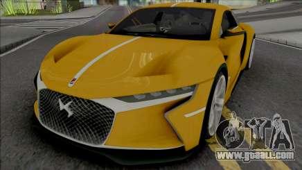 DS E-Tense 2016 for GTA San Andreas