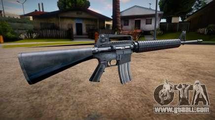 HQ M4 for GTA San Andreas