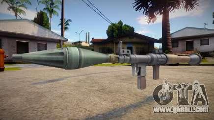HQ RPG for GTA San Andreas
