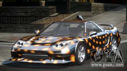 Honda NSX SP-R S2 for GTA 4