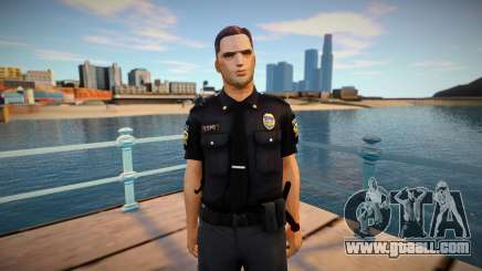 Improved cop lapd1 for GTA San Andreas