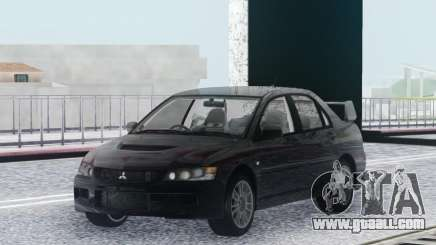 Mitsubishi Lancer Evolution IX MR Stock for GTA San Andreas