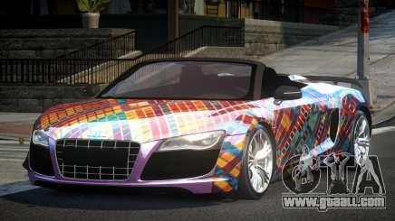 Audi R8 SP Roadster PJ2 for GTA 4