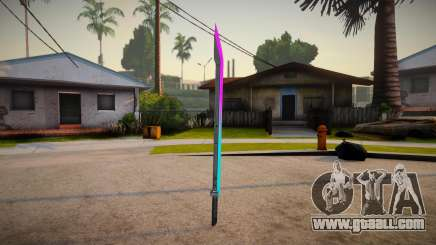 Katana Neon Marck_delta for GTA San Andreas