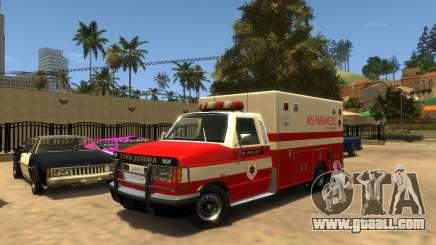 Ambulance SA for GTA 4