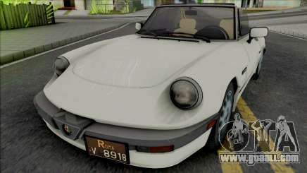 Alfa Romeo Spider Quadrifoglio for GTA San Andreas