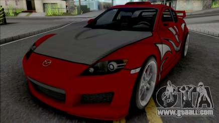 Mazda RX-8 Mia Townsend for GTA San Andreas