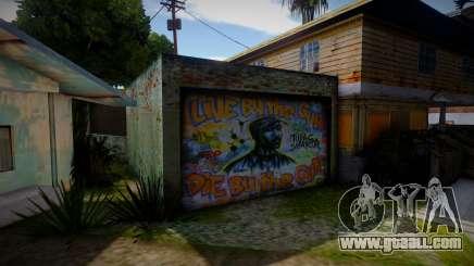 2Pac Graffiti for GTA San Andreas