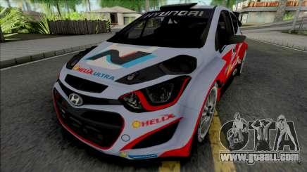 Hyundai i20 WRC for GTA San Andreas