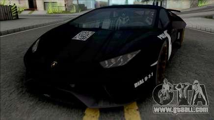 Lamborghini Huracan Performante Police for GTA San Andreas