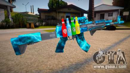 Ak-12 mod for GTA San Andreas