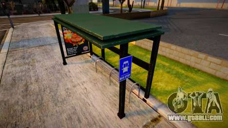 Improved Bus Stop for GTA San Andreas
