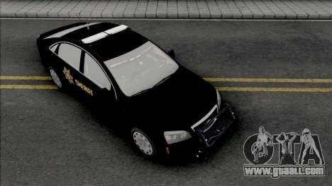 Chevrolet Caprice 2013 Sheriff Police for GTA San Andreas