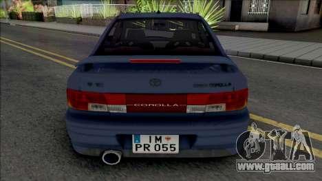 Toyota Corolla AE100 [IVF] for GTA San Andreas