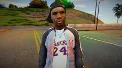 Black guy skin for GTA San Andreas