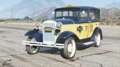 Ford Model A Town Sedan 1931〡Taxi〡add-on for GTA 5