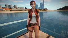 Claire Redfield in a costume Helena Harper for GTA San Andreas