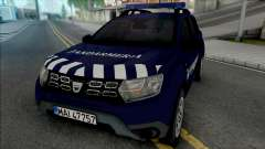Dacia Duster Jandarmeria for GTA San Andreas