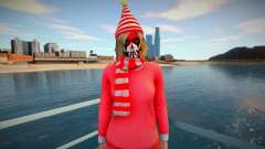 Female striped scarf from GTA Online for GTA San Andreas