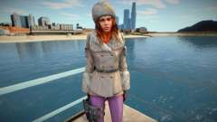 Jessica Sherawat in winter clothes for GTA San Andreas