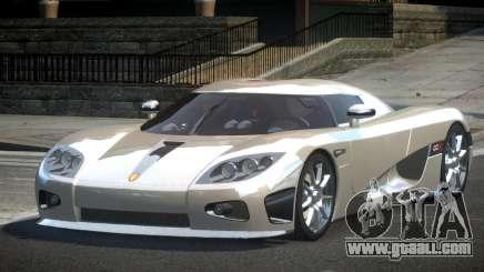 Koenigsegg CCX GST-R for GTA 4