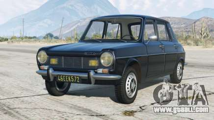Simca 1100 1976〡add-on for GTA 5