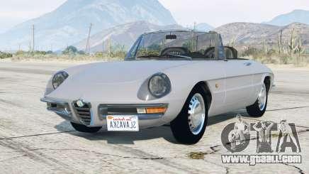 Alfa Romeo Spider 1600 Duetto (105) 1966 v3.0 for GTA 5