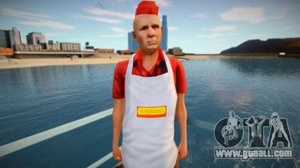 Seller of hot dogs omonood for GTA San Andreas